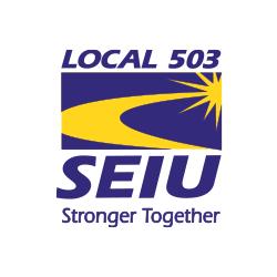 Our partner SEIU 503